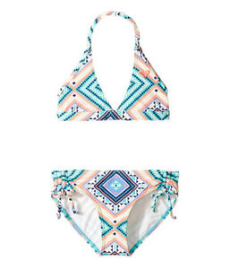 NWT Roxy Swimsuit Bikini Bra Top Sz 14 Kids Girls PNP | eBay