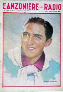Songbook-of-Radio-1941-26-CARLO-Moreno-Messaggerie-Musical-Songs