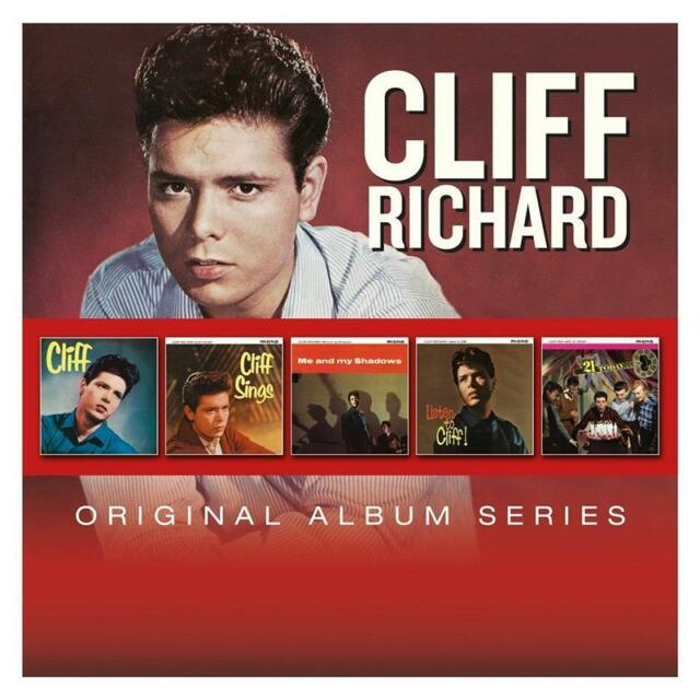 CLIFF RICHARD ORIGINAL ALBUM SERIES 5 CD NEW