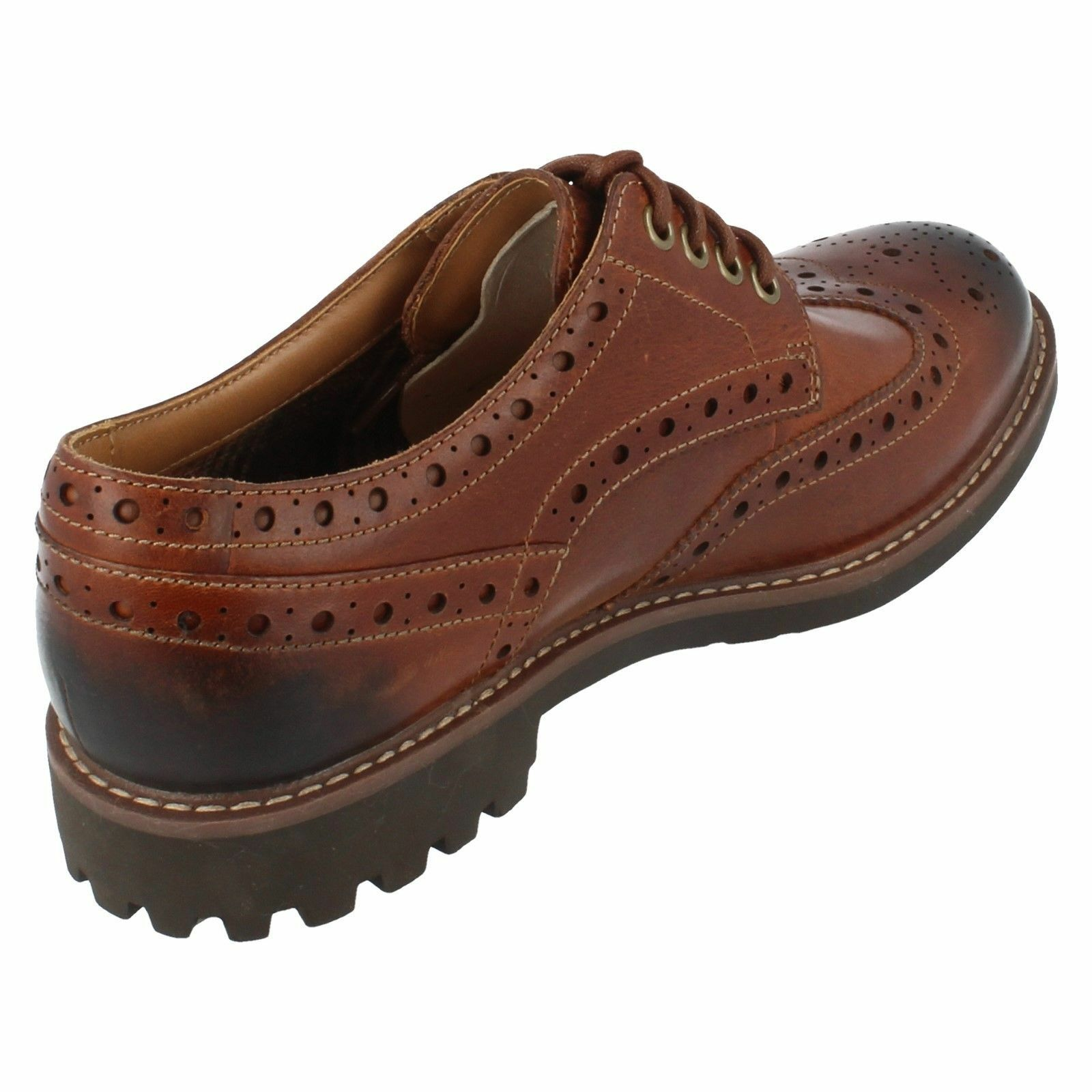 Uomo Schuhes MontacuteWing4 Brogue Lace Up Schuhes Uomo By Clarks 32c25d