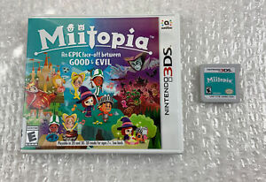 Miitopia (Nintendo 3DS, 2017) Case/Cart Only - Tested & Working
