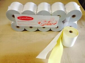 50. 76 x 76  2 PLY  POS PRINTER ROLLS ( KItchen Printer Rolls )