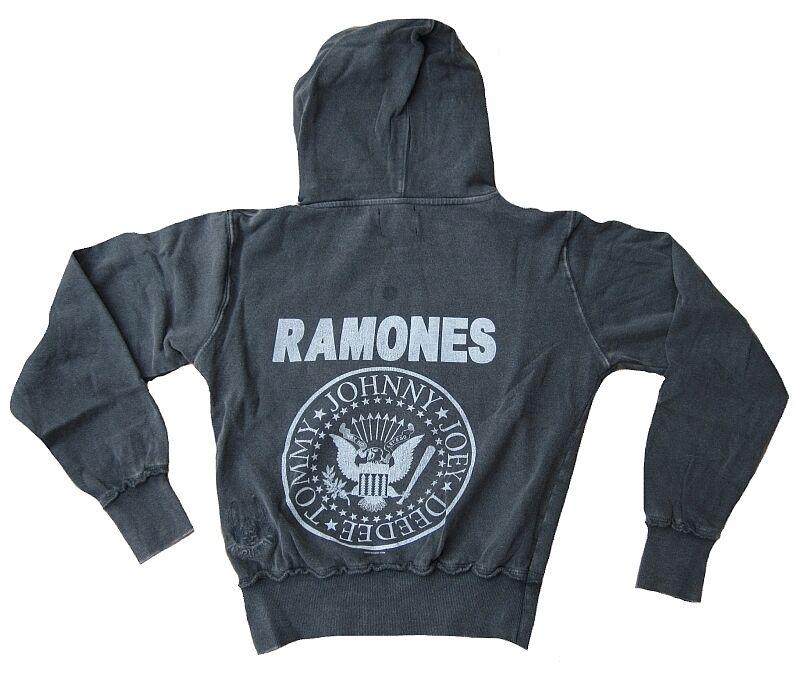 Amplified Ramones Hey Ho Let& 039;s Go Vip Star Vintage Vintage Vintage Felpa con Cappuccio G.M   L 5b3d8d