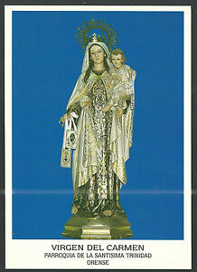 image pieuse postale de la Virgen del Carmen holy card santino estampa jgwYbZFq-08050951-839914348