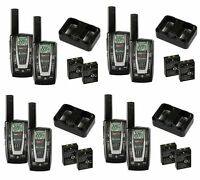 4 Pair Cobra Cxr725 27 Mile 22 Channel Frs/gmrs Walkie Talkie 2-way Radios on sale