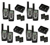 4 Pair Cobra Cxr725 27 Mile 22 Channel Frs/gmrs Walkie Talkie 2-way Radios on sale