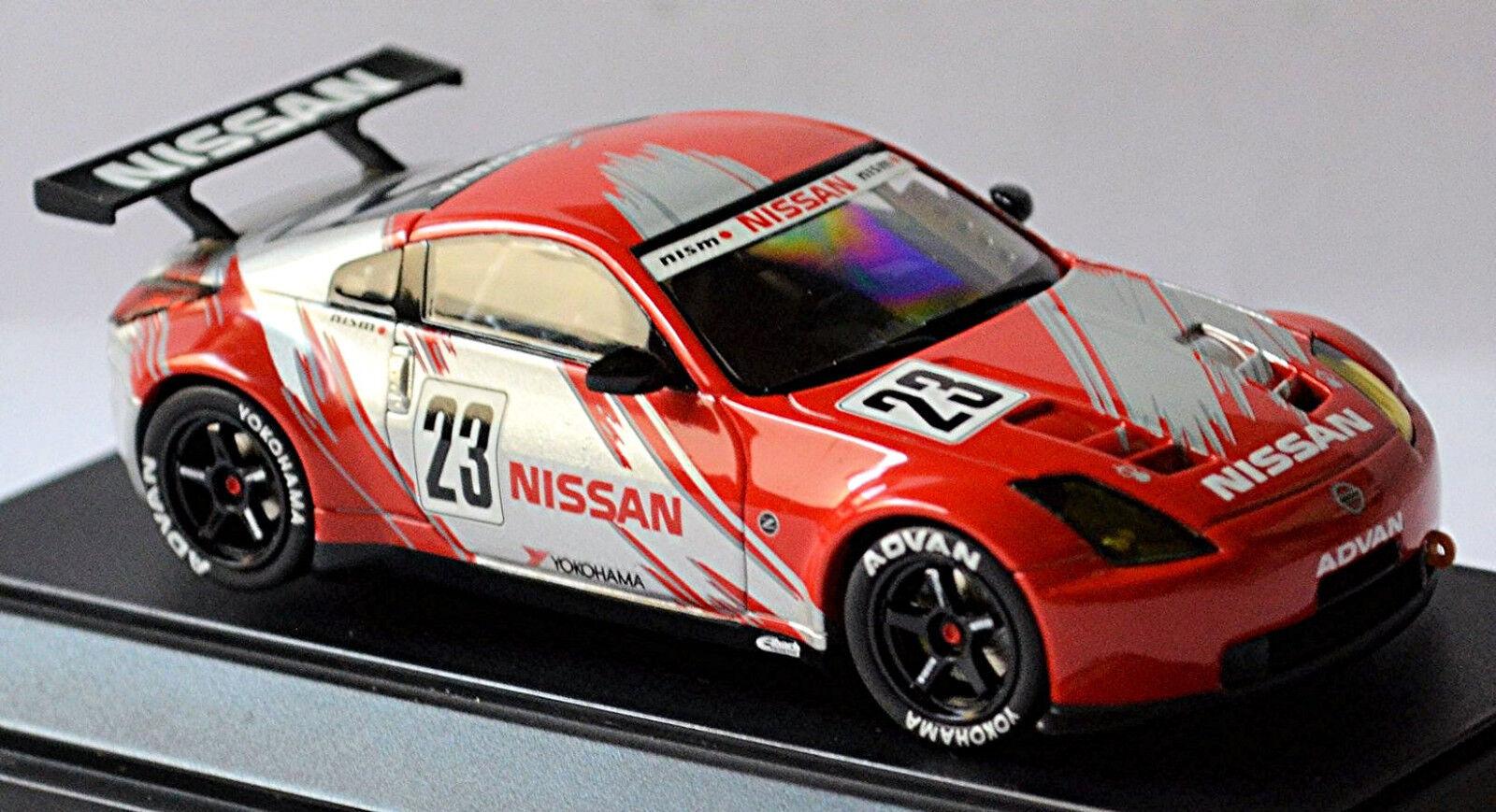 Nissan Fairlady Z Gt Nismo Course Prototyp Silber rot 1 43 Ebbro