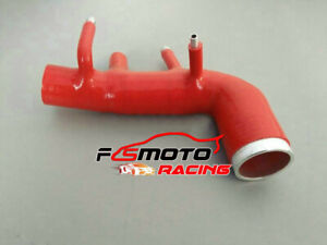 Silicone-Induction-turbo-intake-inlet-hose-For-Subaru-WRX-STI-GC8-EJ20-98-00-RED