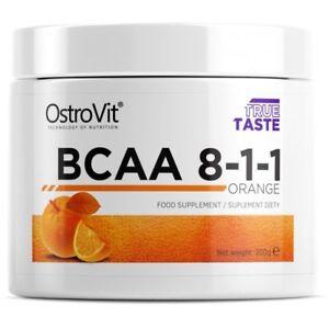BCAA-Branch-Chain-Amino-Acids-8-1-1-200g-Powder-Orange-Muscle-Mass