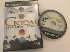 1 BOXED PAL PLAYSTATION 2 PS2 GAME GODAI ELEMENTAL FORCE By 3DO 3D0 PAL