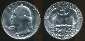 United-States-1972-D-Quarter-1-4-Dollar-Washington-Choice-Uncirculated