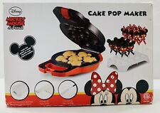 Disney Mickey Mouse & Friends Non-Stick Cake Pop Maker Black and Red