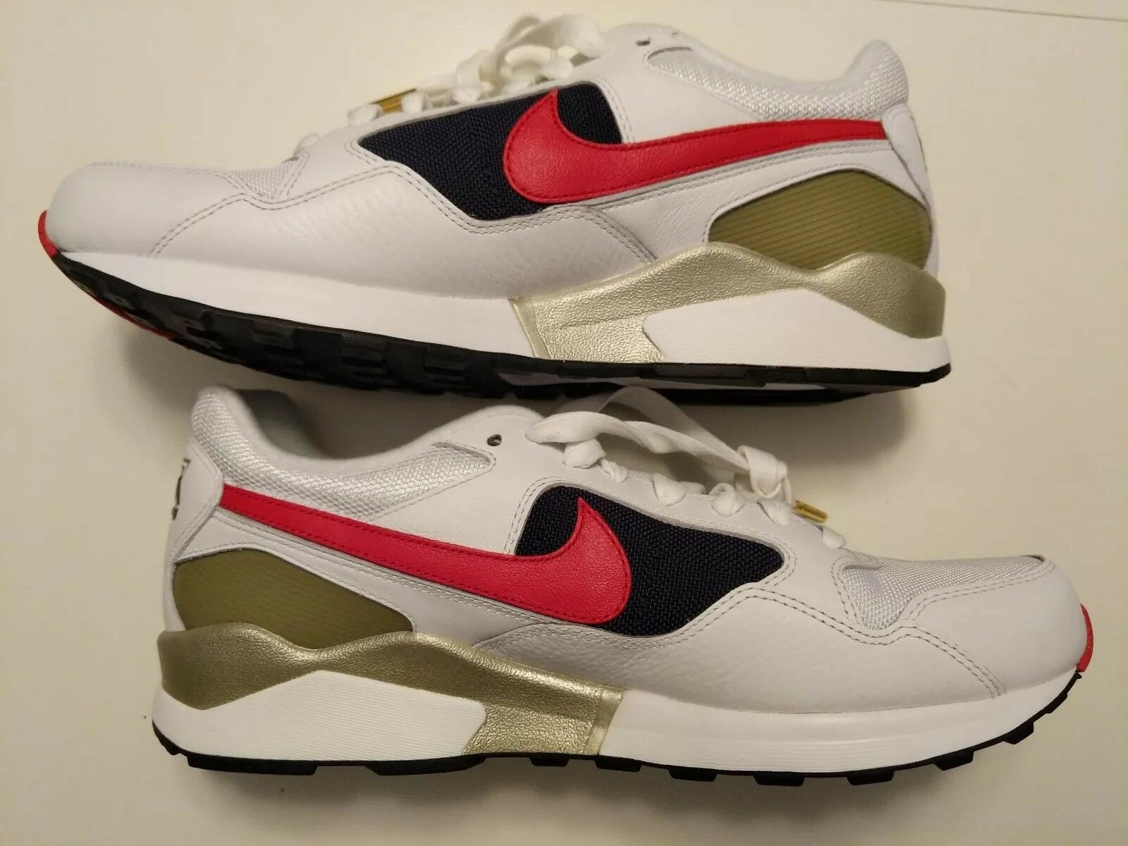 Nike Air Pegasus 1992 Olympic 844964-100 USA White Red Blue 844964-100 Olympic Sz 10.5 10 1/2 NEW d702d1