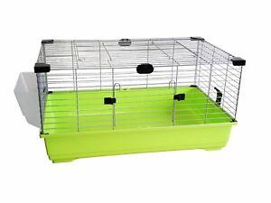 Hache de lapin 100cm grande cage d'intérieur pour rongeur cochon d'Inde