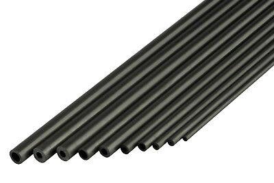 Carbon-Vierkant-Stab 5.0x10.0 x 1000 mm Rechteck Flach Stab CFK Carbonstab Kohle