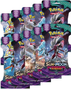 POKEMON Sun and Moon Guardians Rising Booster Pack x1 NEW