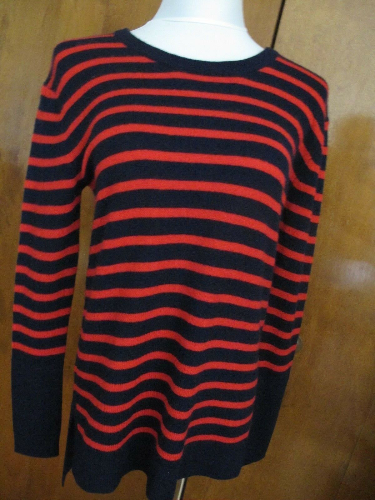 Aqua Women's Peacoat Red Cashmere Asymmetrical Sweater Sweater Sweater Sz Small NWT 631620
