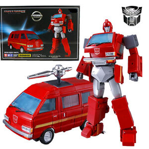 Takara-Tomy-Transformers-Masterpiece-MP-27-IRONHIDE-NISSAN-CHERRY-VANETTE-Figure