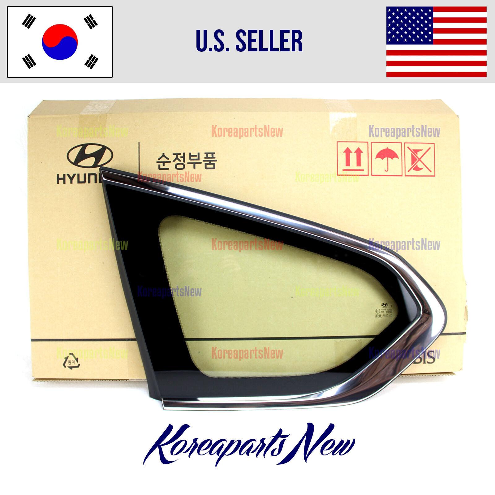 Genuine Hyundai 87820-1E080 Quarter Glass Molding Assembly