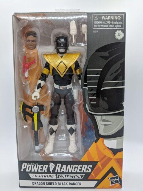 Power Rangers Lightning Collection MMPR Dragon Shield Black Ranger