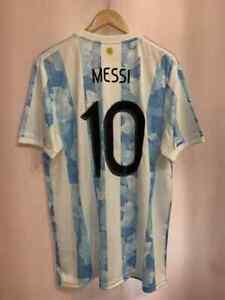 ARGENTINA NT 2020/2022 HOME FOOTBALL SHIRT JERSEY CAMISETA SIZE XL MESSI #10