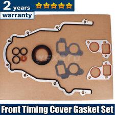 Front Timing Cover Gasket Set For Gm Chevy Ls Vortec 48 53 57 6ls1 Ls2 Ls3