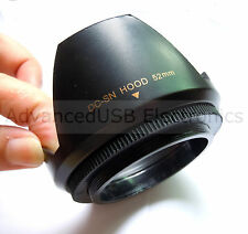 52mm Petal-Shaped Lens Hood For Nikon D5200 D5100 D3200 D3100 D3000 + 18-55MM VR