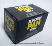 3Rolls  Ilford Pan 100ISO Black&White 135 Film 35MM 36exp B&W Fresh 2020 ~