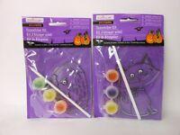 Halloween Suncatcher Kit Creatology Cat + Pumpkin Ages 3+ Nip