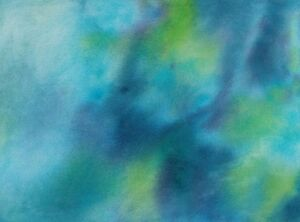 BLUE-GREEN-MIRAGE-Original-Watercolor-Abstract-Painting-9-034-x12-034-Julia-Garcia-Art