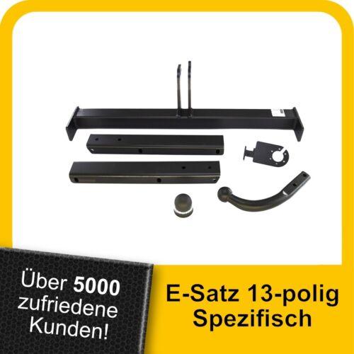 Audi A4 Avant 08-15 Anhängerkupplung starr+ES 13p spez AHK Kpl.