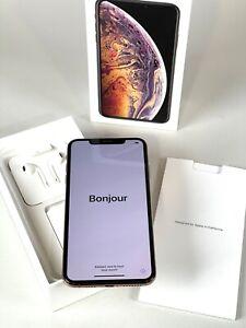 iPhone XS Max 256 Go Gold - Grade A++ - Tout opérateurs - Comme neuf et complet