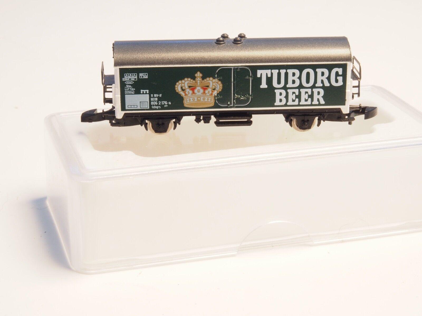 Tuborg Z Miba 626 Marklin Z-Scale Birra Refrigerato Auto Sp ed Danese