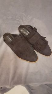Leather Size By 6m Madden New Black Suede Steven Steve Adee Mules ZAqwOq