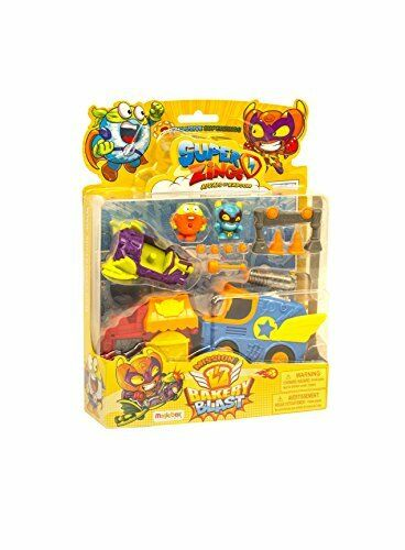 Magicbox MBXSZ1P0700 superzings SERIE 1 rivali di Kaboom BLISTER missione 1 Acti