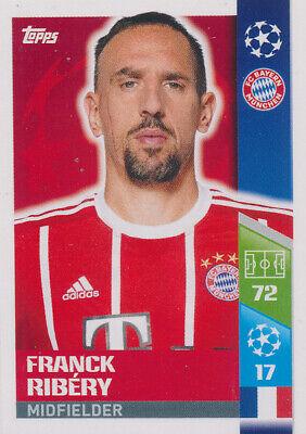 BAM1718 Sticker 100 Franck Ribery Panini FC Bayern München 2017//18