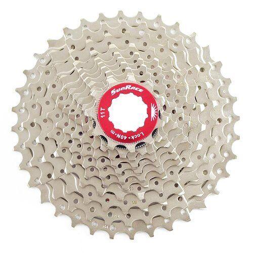 Sunrace CSRX1 11 Speed Road Fahrrad Cassette 11-36T , Silber
