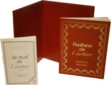 Cartier Panthere de Cartier Watch Instructions Booklet User Guide & Holder C1087