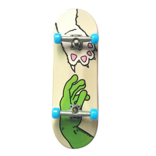 Cute Complate Fingerboard Finger Skate Board Kids Party Toys Gift