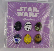 Disney Trading Pins STAR WARS Easter EGG Sealed Booster Set of 6