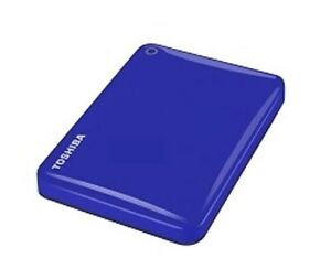 Toshiba-Canvio-Conexion-II-1TB-Disco-Duro-Externo-Movil-en-Blue-USB3-0
