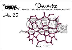 Crealies-Decorette-Nr-25-Mocaic-CLDR25-Stanzschablone
