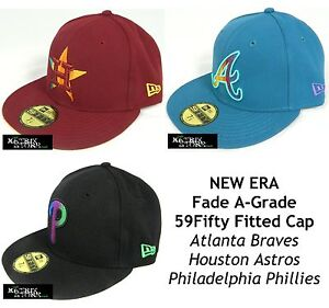 100% authentic 76ce0 b27cf Image is loading NEW-ERA-FADE-A-GRADE-MLB-59FIFTY-FITTED-
