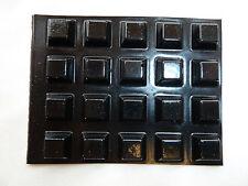 20 Medium Self Adhesive Feet Pads - Black Sticky