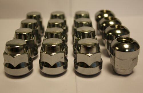 16 X M12 X 1.5 STANDARD REPLACEMENT ALLOY WHEEL NUTS FIT HONDA CIVIC COUPE 94/>01