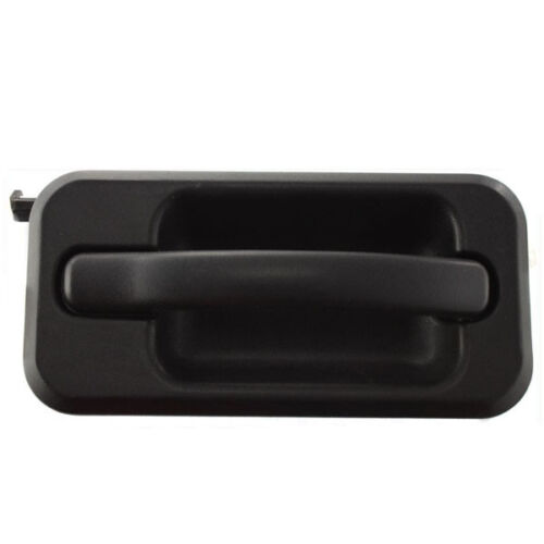 03-09 H2 Black Exterior Outer Outside FRONT Door Handle Right Passenger Side RH