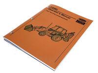 Ford 455c Tractor Loader Backhoe Operators Manual Maintenance Guide Book