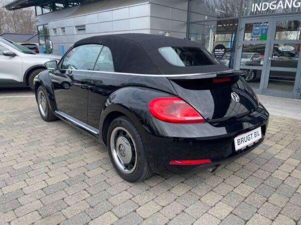 VW The Beetle 1,2 TSi 105 Design Cabriolet DSG - billede 5