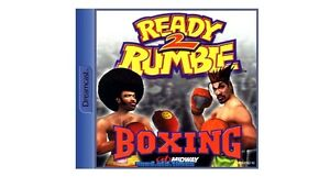# Sega Dreamcast Jeu-ready 2 Rumble Boxing-top #-afficher Le Titre D'origine