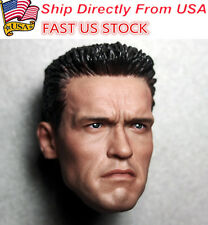 "1/6 Arnold Schwarzenegger Head Model Sculpt F/12"" HT Phicen Body Figure USA St."